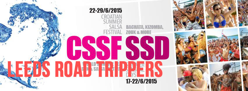 Leeds Road Trippers Croatian Summer Salsa Festival 2015