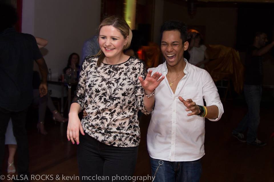 Dancers at Salsa Rocks Leeds