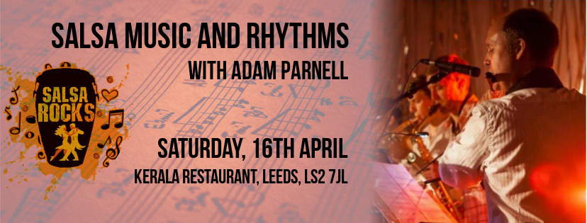 Salsa music and musicality workshop with Adam Parnell
