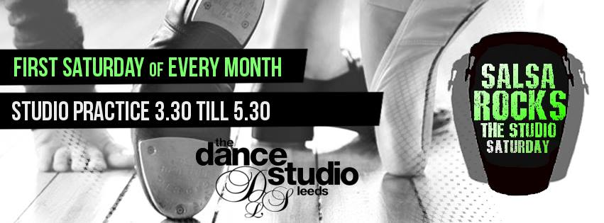 Salsa Rocks at dance studio leeds banner